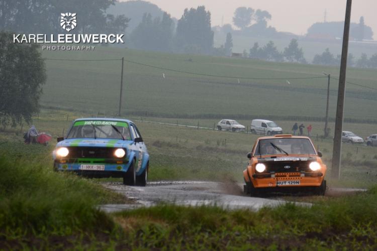 Zes wedstrijden voor de Belgium Ford Pinto Cup