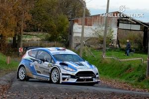 Xavier Baugnet kan niet wachten om van start te gaan in Rallye de Wallonie