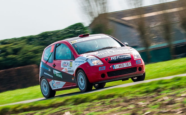 Top vijf notering voor Christophe Panis in TAC Rally Criterium