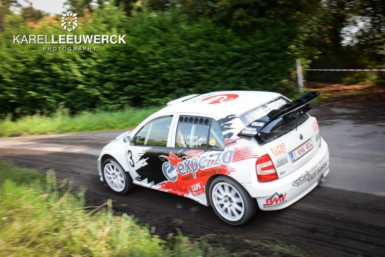 Derde overwinning voor Andy Lefevere in Rally van Staden