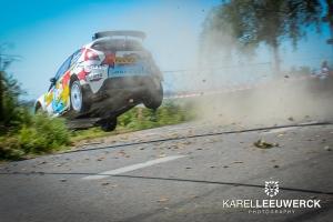 Achiel Boxoen redt de eer van de Jobfixers in Ypres Rally