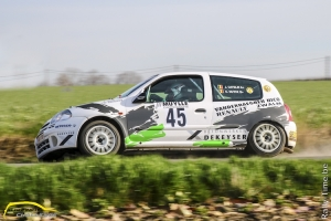 Strijd om Clio 2 Rally Challenge start in Rallye des Ardennes