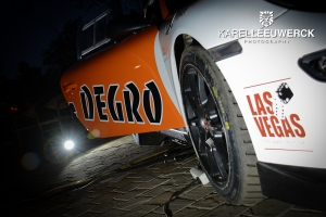 Marc Duez in Kenotek Ypres Rally met Degro-Porsche 997 GT3