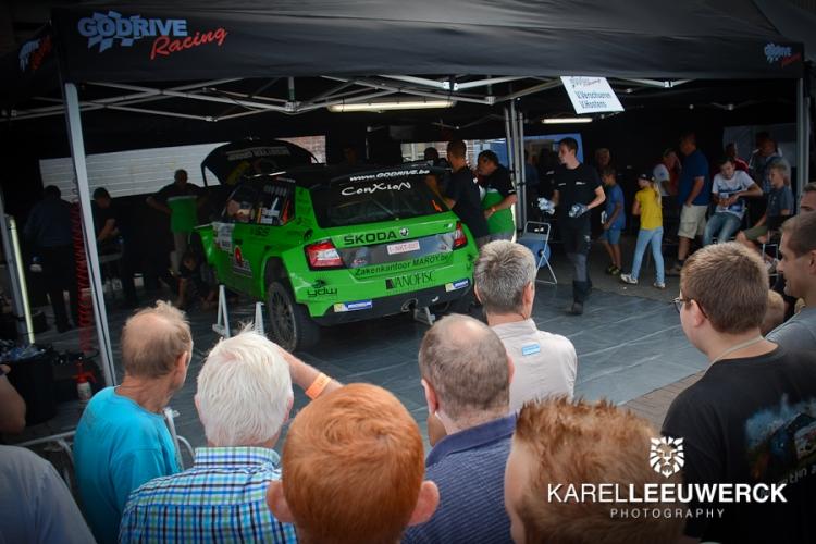 E-Rally tijdens ConXioN Omloop van Vlaanderen
