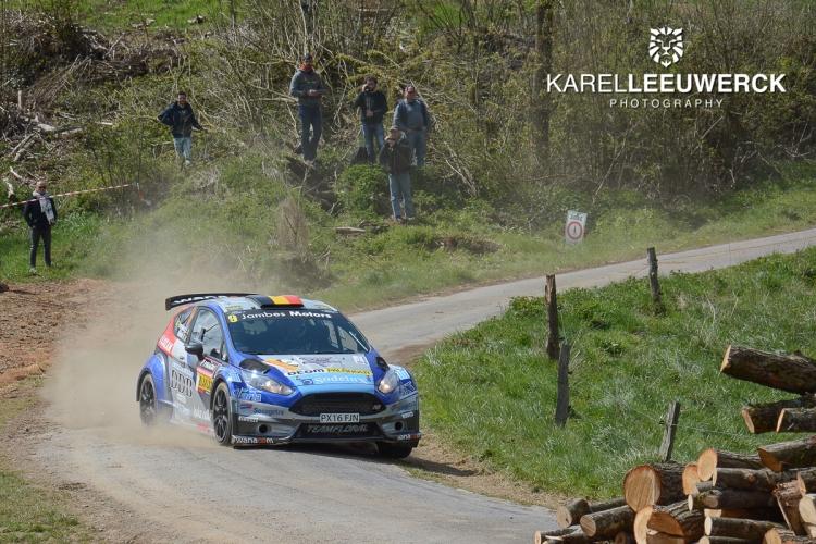 Adrian Fernémont zesde in de Rally van Wallonië
