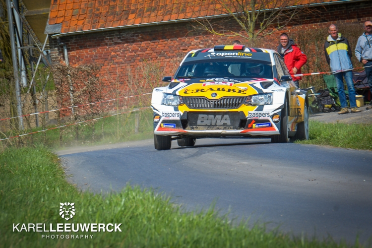 Kris Princen domineert TAC Rally van start tot finish