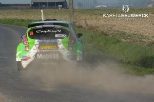 TAC Rally: Polle Geusens scoort een foutloze top vijf