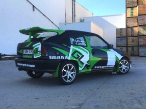 Glenn Lambert maakt rallydebuut in Rallysprint van Moorslede
