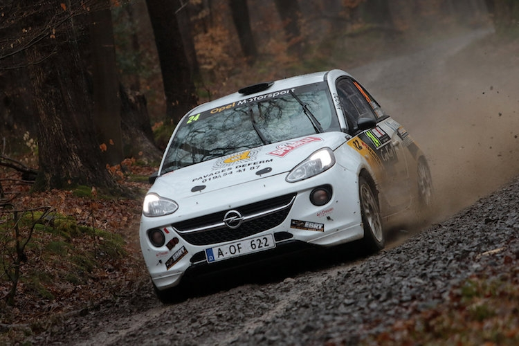 Romain Delhez snelste Junior in Herock Spa Rally