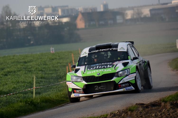 TAC Rally Tielt: Derde opéénvolgende zege voor Freddy Loix