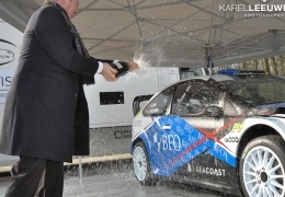 Voorstelling Ford Focus WRC Freddy Loix