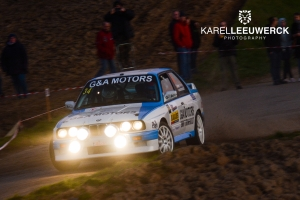 Sterke concurrentie voor Guino Kenis in Herock Spa Rally
