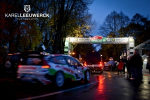 De Legend Boucles @ Bastogne aan de start van de… Condroz Rally