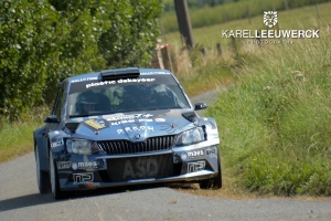 Melissa Debackere wint vierde maal ORC Canal Rally