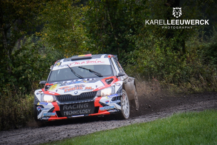 Adrian Fernémont domineert van start tot finish in East Begian Rally