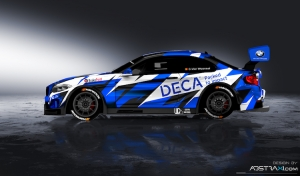 DECA Motorsport met Chris Van Woensel en de MARC BMW M2