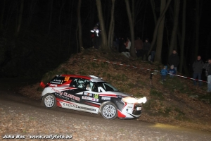 Spa Rally: Junior Award voor Anthony Dovifat
