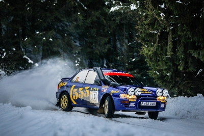Charles Munster wint de Romania Historic Winter Rally