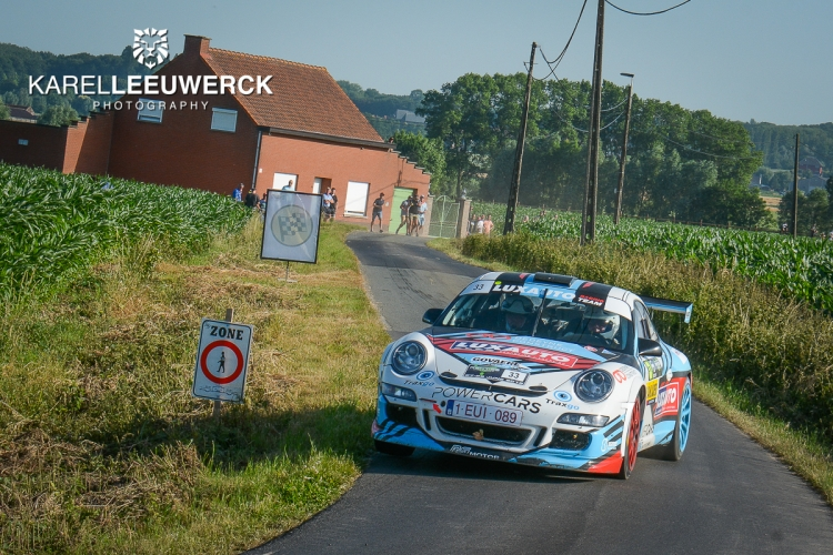 De Renties Ypres Rally in twee FIA European Rally Trophy's