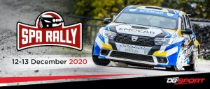 De Spa Rally 2020 gaat door op 12 en 13 december