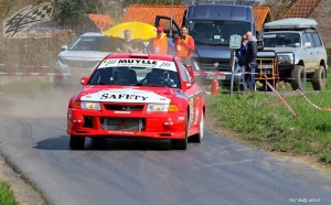 Ook de Safety EVO is van de partij in de East Belgian Rally