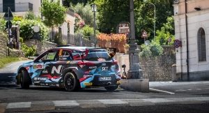 Grégoire Munster zevende in Rally di Roma