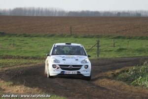 Condroz Rally: Zege en Junior Award voor Romain Delhez